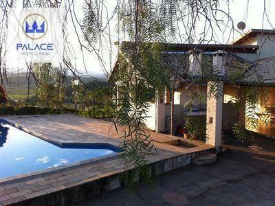 Chácara Com 4 Dormitórios À Venda, 5140 M² Por R$ 730.000,00 - Centro - Águas De São Pedro/sp - Ch0061