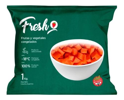 Zanahoria Cubeteada Congelada Iqf Fresh X 1kg