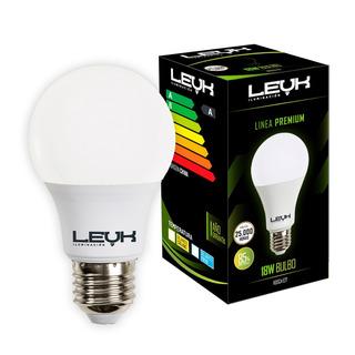 Lámpara Led Foco 17 18w Igual 125w Bulbo E27 Premium