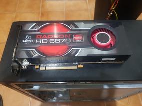 Placa De Vídeo Radeon Hd6870 1gb Ddr5