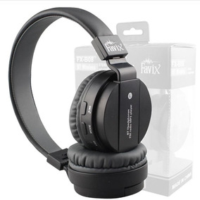 Fone Bluetooth Favix B08 Sem Fio Radio Fm Mega Bass P2 Sd