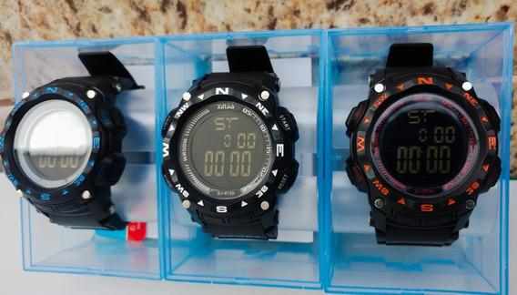 Kit 5 Relógios Digitais Originais Prova Dagua Fornecedor