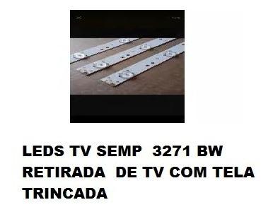 Leds Tv Semp Toshiba Dl3271(b)w