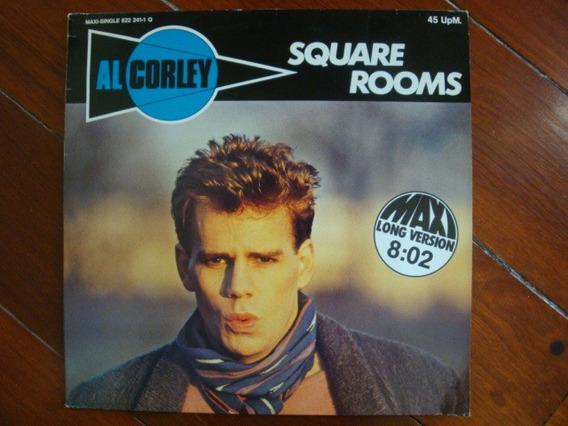 Al Corley Square Rooms 12 Vinilo Usa 84 Mx