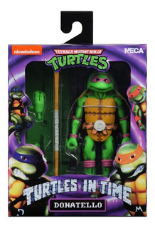 Neca Las Tortugas Ninjas Donatello Tmnt Turtles In Time