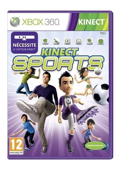 Jogo Kinect Sports 1 Xbox 360 Tem Boliche Novo Frete Grátis