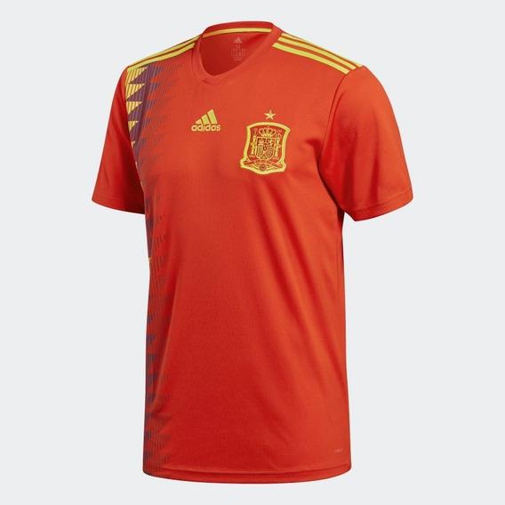 Camisa adidas Espanha Copa 2018 Oficial I