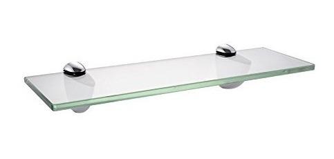 Kes Plataforma De Baño, Estante De Cristal De Vidrio Templad