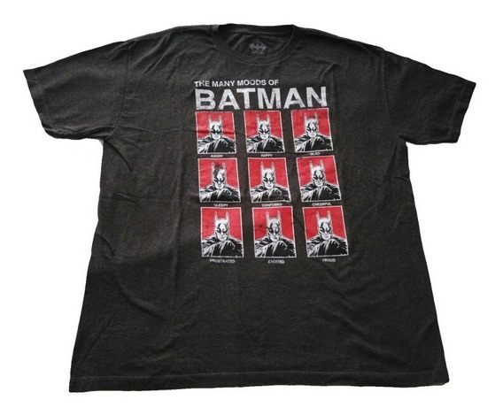 Remera Marca Bat Man Talle Xl