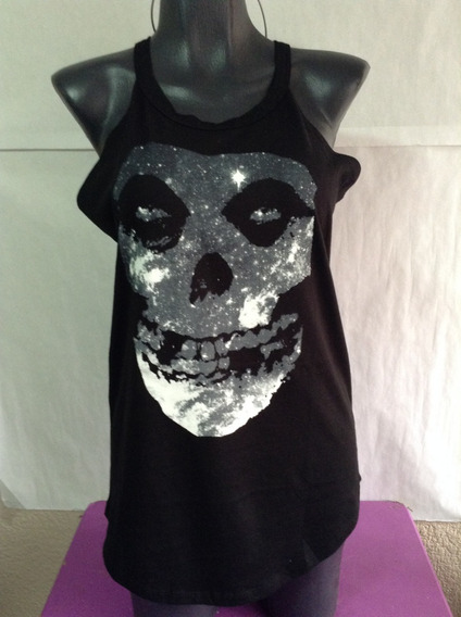 Misfits Playera Original Sin Mangas Dama Hot Topic Importada