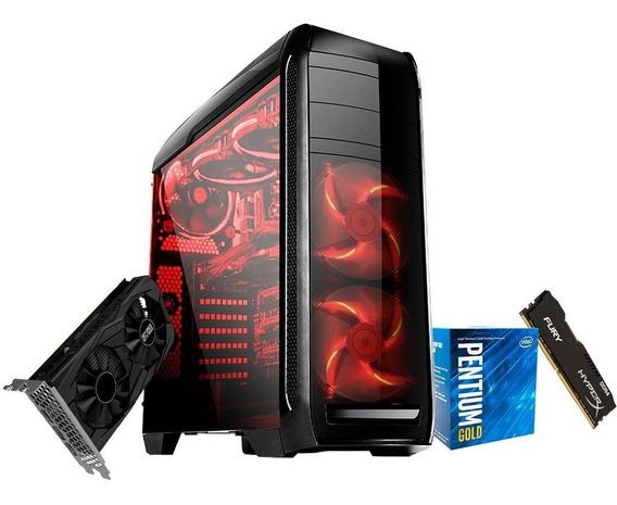 Pc Gamer G5400 Gold - Gtx1650 4gb - 8gb Ram Ssd 120gb 500w