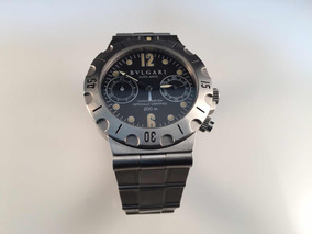 Reloj Bvlgari Diagono Professional Scuba De Acero