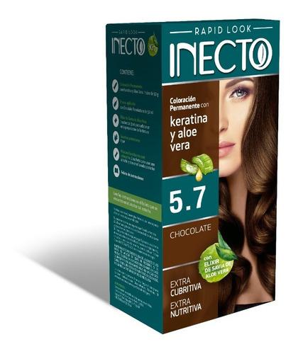 Kit De Tintura Inecto Chocolate Nº 5,7