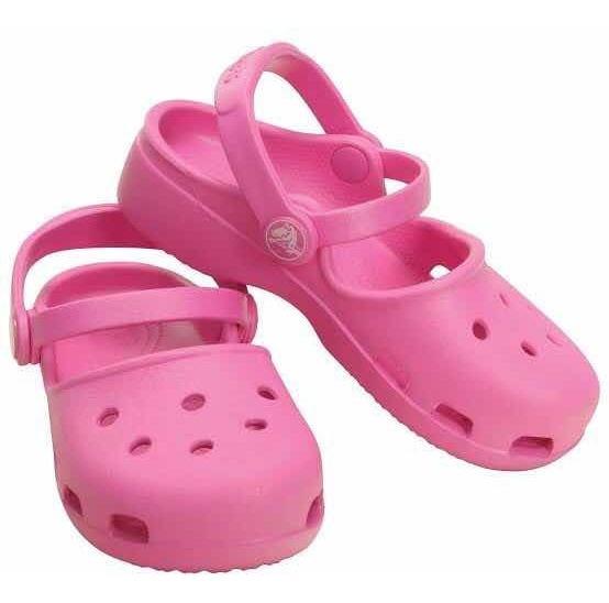 Crocs Sapatilha Infantil C12 Tam 30 Rosa Original