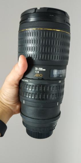 Lente Sigma 70-200 Nikon