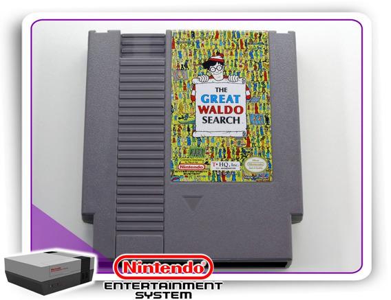 The Great Waldo Search Original Nintendinho Nes 8-bits