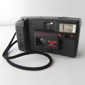 Cãmera Fotográfica Kodak Modelo S-10 Preta Usado Com Defeito