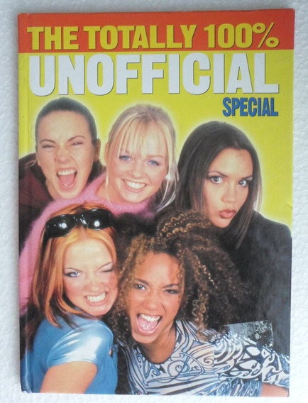 Spice Girls - Livro The Totally 100% Unofficial Special