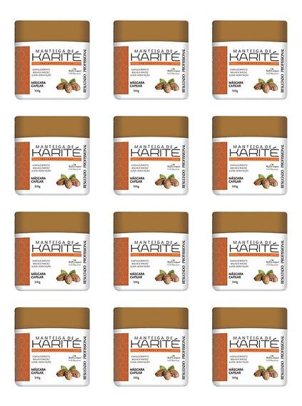 12 Máscaras Hidratante Manteiga Karité Bell Corpus, Atacado