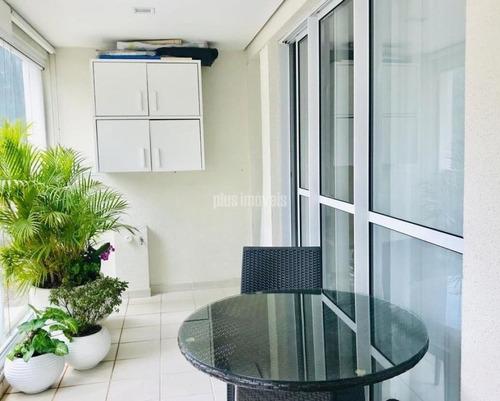 Apartamento Para Venda No Bairro Campo Belo Em São Paulo - Cod: Pj50949 - Pj50949