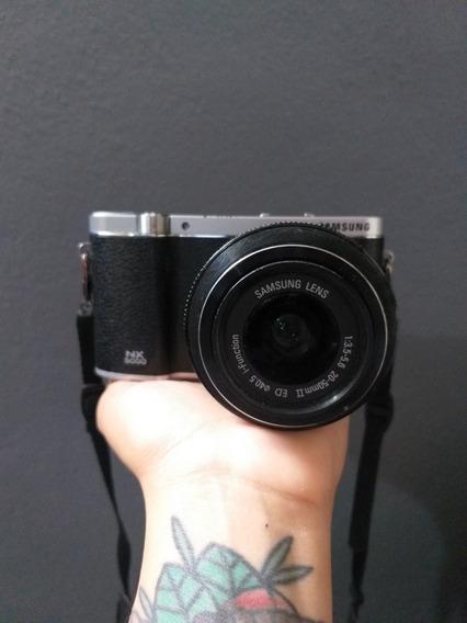 Câmera Samsung Nx3000 + Lente 20/50mm