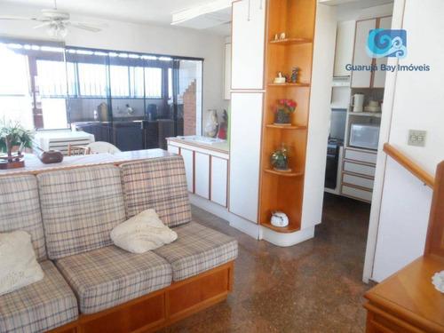 Imagem 1 de 23 de Cobertura À Venda - Praia Das Astúrias - Guarujá - Co0329