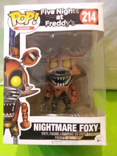 Five Nights At Freddy,nightmare Foxy,funko Pop Original