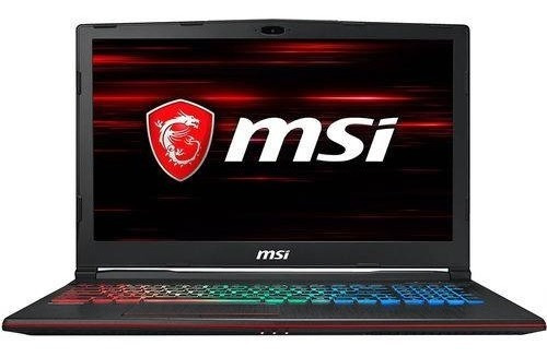 Notebook Gamer Msi Gp63 I7-8750h Fhd 15.6