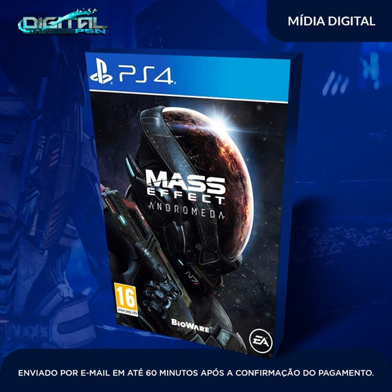Mass Effect Andromeda Ps4 Psn Jogo Digital Envio Em 10 Min!