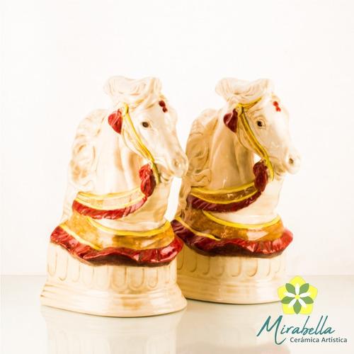 Caballos Sujetalibros Mirabella X2