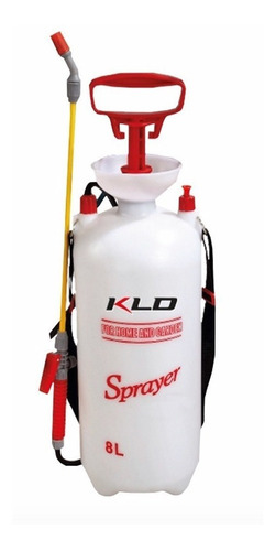 Imagen 1 de 10 de Pulverizador Fumigador A Presión 8 Litros Kld368 Para Jardin