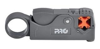 Decapador Ajustável P/ Rg59 E Rg6 Proft-0020 Lâminas Em Aço