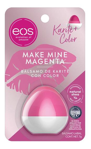 Balsamo Labial Colección Sea Shade Make Mine Magenta 7g Eos