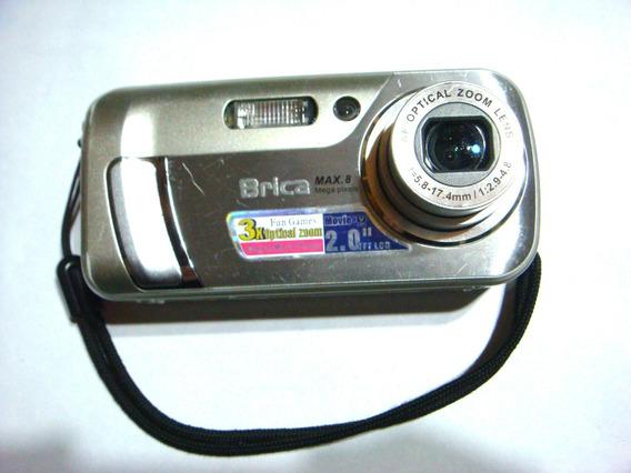 Camara Digital Brica Z810 6/8 Mp Pant 2pul Rep Mp3 Graba Voz