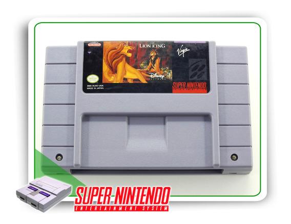 The Lion King Super Nintendo Original Snes