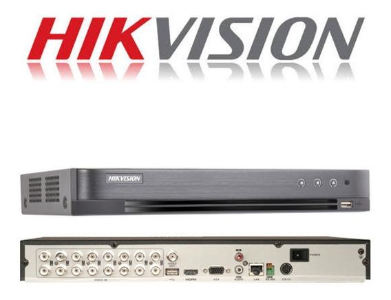 Dvr 08 Canais Hikvision Poc Ds-7208hqhi-k2/p