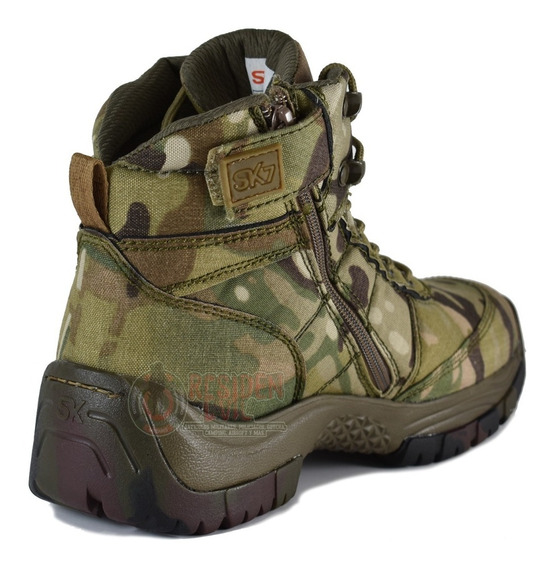Botas Hombre Militares Camu Botines Zapatos Dama