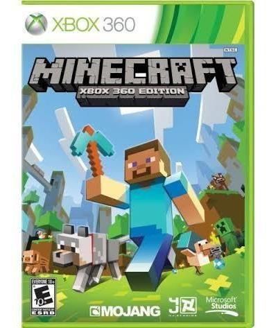 Minecraft Xbox 360 Original Pronta Entrega Mídia Física