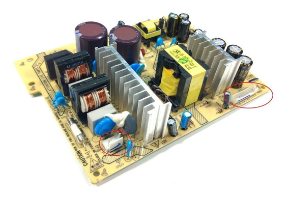 Placa Fonte Home Philips Htd5510 Verificar Conector