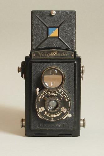 Maquina Fotográfica Alemã Anos 30 Voigtländer Brillant Vinta