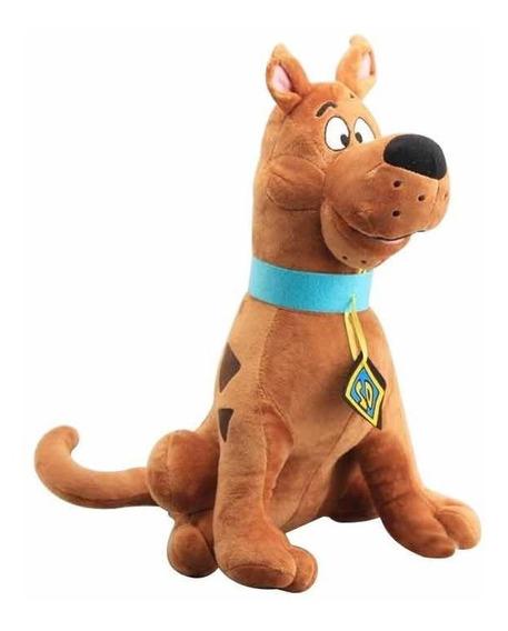 Pelúcia Cachorro Scooby Doo 35 Cm Grande Anti Alérgico
