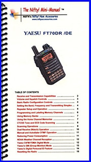 Yaesu Ft 991a Mini Manual By Nifty Accessories