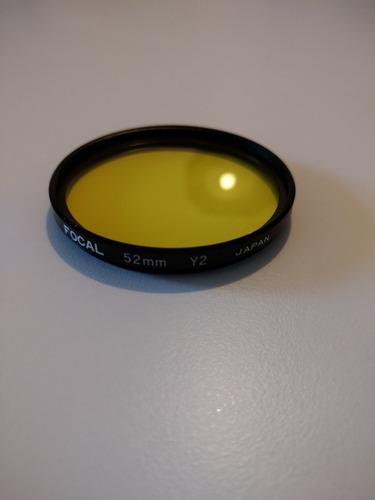 Filtro Focal 52 Mm Y2 Japan Amarelo