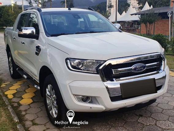 Ford Ranger Limited 3.2 Cd 4x4 Diesel Aut. 2017 Branca