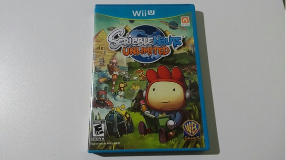 Scribblenauts Unlimited Seminovo Americano Wiiu Mídia Física