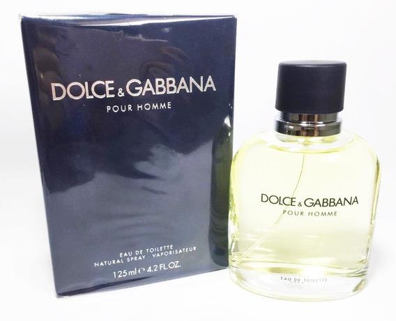 Perfume Dolce & Gabbana Pour Homme Masc 125ml Original