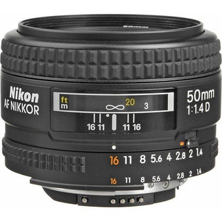 Nikon Af Fx Nikkor 50mm F 1.4d Lente De Zoom