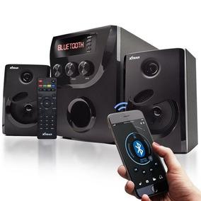 Caixa Som Portatil 800w 2.1 Mp3 Fm Pc Micro System Bluetooth