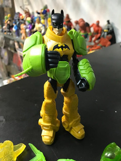Batman Dark Knight Amarillo Suit Toxo Figura Mattel 2011