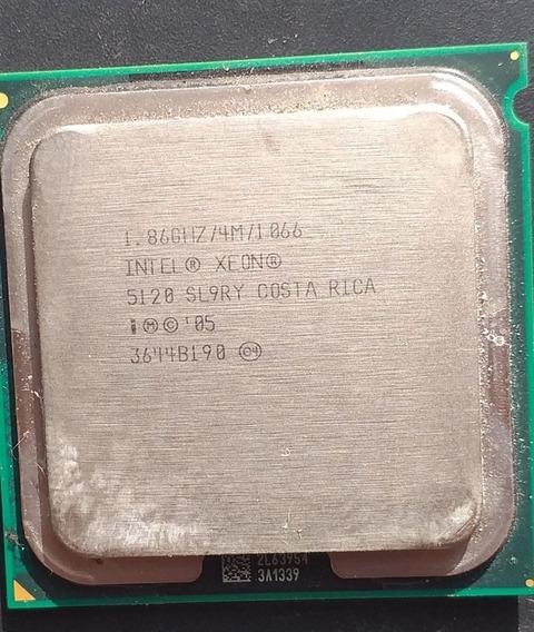 Processador Intel Xeon Sl9ry E5120 4m Cache 1.86 Ghz 1066fsb